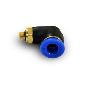 Szögletes dugattyús tömlő 6 mm-es menet M5 PL06-M05