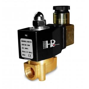 2N08 mágnesszelep 1/4 230 V vagy 24 V, 12 V Viton - vegyszerekkel szemben ellenálló