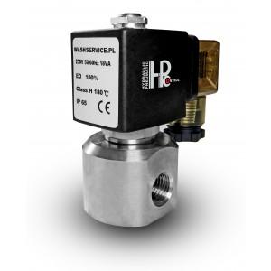 Magas nyomású mágnesszelep HP20 1/4 hüvelykes 230 V 12 V 24 V