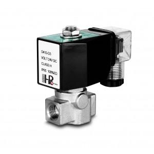 Magas nyomású mágnesszelep HP15-M rozsdamentes acél SS304 110bar