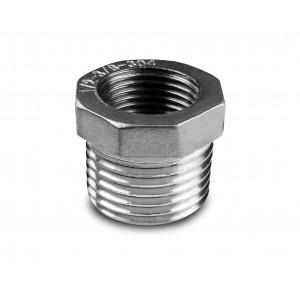 Redukciós rozsdamentes acél 1 1/2 - 1 1/4 inch