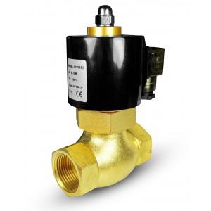 Mágnesszelep gőzzel és magas hőmérsékleten. 2L20 3/4 inch180 ° C