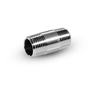 Csőbimbó rozsdamentes acélból, 1/4 hüvelyk 38 mm