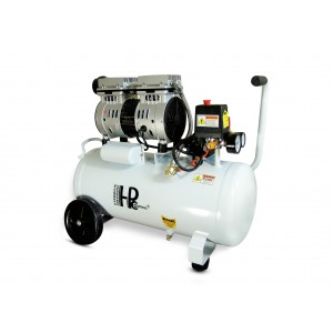 Csendes olajmentes fogkompresszor 750W 24l