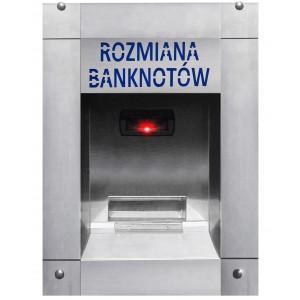Pénzváltó bankjegyekhez az autómosóhoz (vízálló)