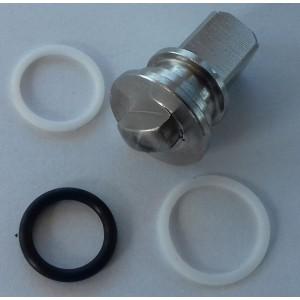Javítókészlet nagy nyomású, háromutas gömbcsaphoz, 1/4 hüvelykes ss304 HB3