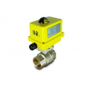 Gömbcsap 1 1/2 hüvelykes DN40 elektromos szelepmozgatóval A250