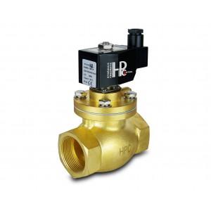 Mágnesszelep gőzzel és magas hőmérsékleten. nyitott LH50-NO DN50 200C 2 hüvelyk