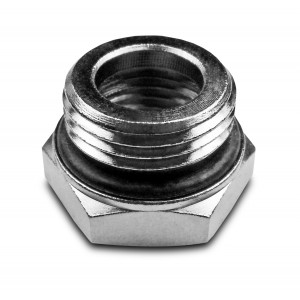 Csökkentés 1/2 - 3/8 hüvelyk, O-gyűrűvel