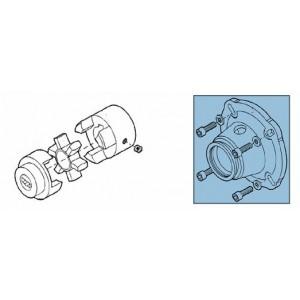 Tengelykapcsoló + adapter a RO szivattyúkészlethez