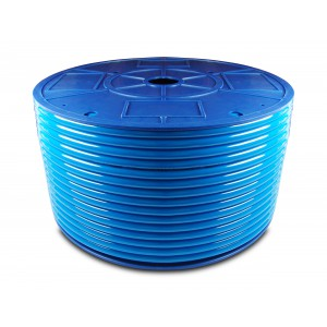 Poliuretán pneumatikus tömlő PU 6/4 mm 200m kék