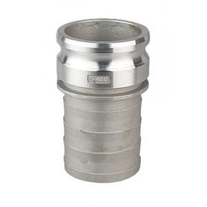 Camlock csatlakozó - E típusú 1 1/2 hüvelykes DN40 alumínium