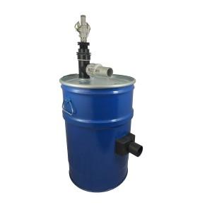 Porszívó tartály 60l sűrített levegő szűrő tisztítással