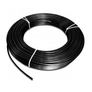 Poliamid pneumatikus tömlő PA Tekalan 6/4 mm 1m fekete