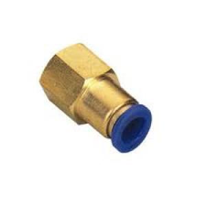 Dugja be a mellbimbótömlőt 6 mm-es belső menet 1/4 hüvelykes PCF06-G02