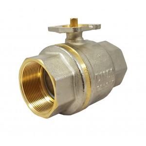 Gömbcsap 1 1/2 hüvelykes DN40 PN25 szerelőlap ISO5211