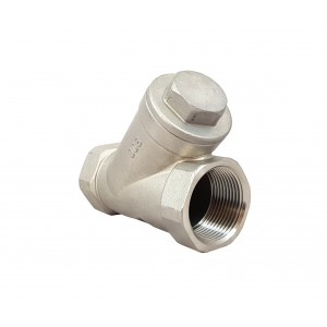 Ellenőrzőszelep, Y típusú DN15, 1/2 hüvelyk - rozsdamentes acél SS316
