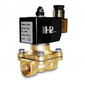 Mágnesszelep 2N20 3/4 hüvelykes FPM Viton + 150C