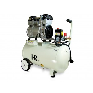 Csendes olajmentes fogkompresszor 1100W 50l