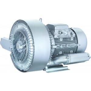 Oldalsó csatornás fúvó, Vortex légszivattyú, turbina, vákuumszivattyú két rotorral SC2-5500 5,5KW