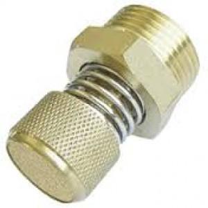 Levegő kipufogó hangtompító áramlásszabályzóval BESLD 1/4 hüvelyk