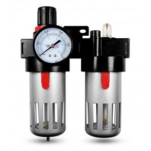 Szűrő dehidratáló szabályozó kenőanyag FRL 1/2 hüvelyk, a BFC4000 levegőre állítva