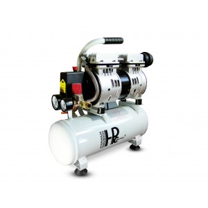 Csendes olajmentes fogkompresszor 550W 6l