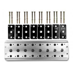Gyűjtőlemez 8 szelep csatlakoztatásához 1/4 sorozat 4V2 4A csoport szelep kapocs 5/2 5/3