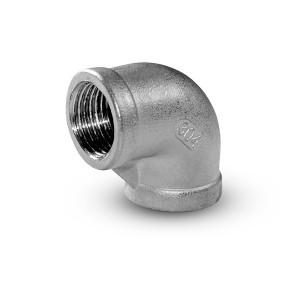 Rozsdamentes acél térd belső menete 1/2 hüvelyk