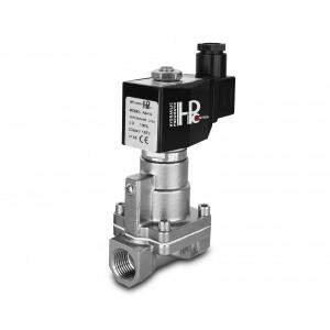 Mágnesszelep gőzzel és magas hőmérsékleten. RH15-SS DN15 200C 1/2 hüvelykes rozsdamentes acél SS304