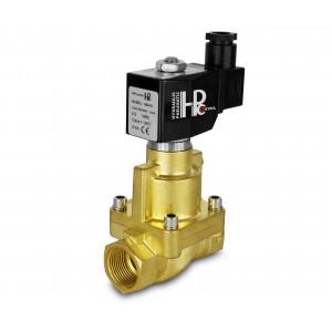 Mágnesszelep gőzzel és magas hőmérsékleten. nyitott RH25-NO DN25 200C 1 hüvelyk