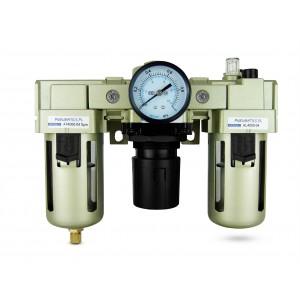 Szűrő dehidratáló szabályozó kenőanyag FRL 1/2 hüvelyk, AC4000-04 levegőre állítva