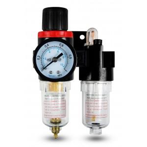 Szűrje a dehidratáló szabályozó kenőanyagát FRL 1/4 hüvelyk AFC2000 levegőre állítva