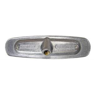 Alumínium szerelőlap a Vorwerk keféhez