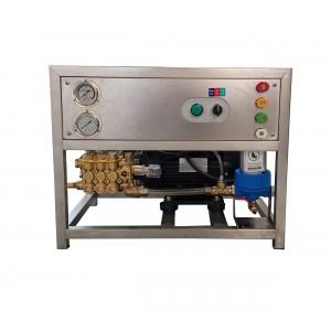 Állítsa a szivattyút és a motort a keretre, hogy a kiegészítőkkel moshasson: 13 l / perc, 150 bar ekvivalens CAT350
