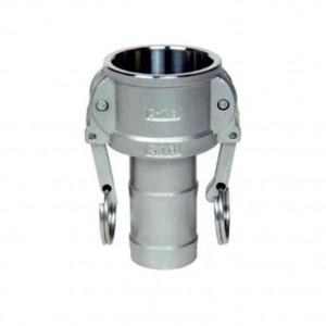 Camlock csatlakozó - C 1 típusú, 1/2 hüvelykes DN40 SS316